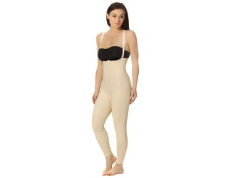 Marena Ankle-Length Compression Girdle with Suspenders Zipperless (FBL2)