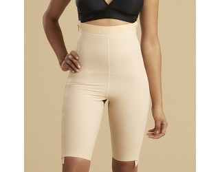 Marena Above-the-Knee Length Compression Girdle with Separating Zippers (LGS-SZ)