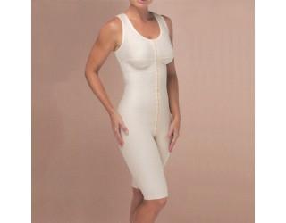 Marena Knee-Length Sleeves Compression Bodysuit (FTS)